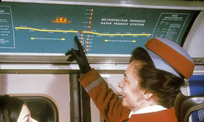 TTC Subway Map and Its Evolution